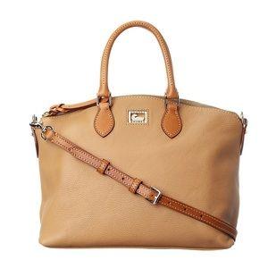Dooney & Bourke Dillen II Satchel Sand Satchel Bag